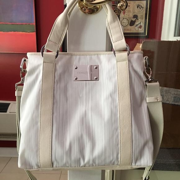 78274350404 Cerruti 1881 Bags | Cerruti 1880 Summer White Shoulder Bag New ...